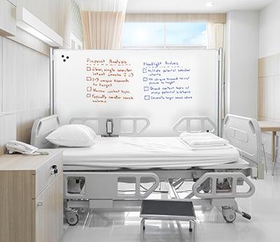 D.O.C. in a hospital rooom